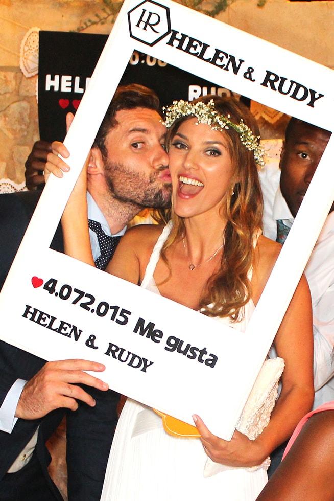 SmileYou boda Helen Rudy fotomatón
